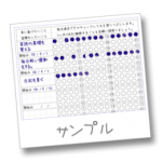 習慣化チェックシート(ほぼ日手帳用リフィル)